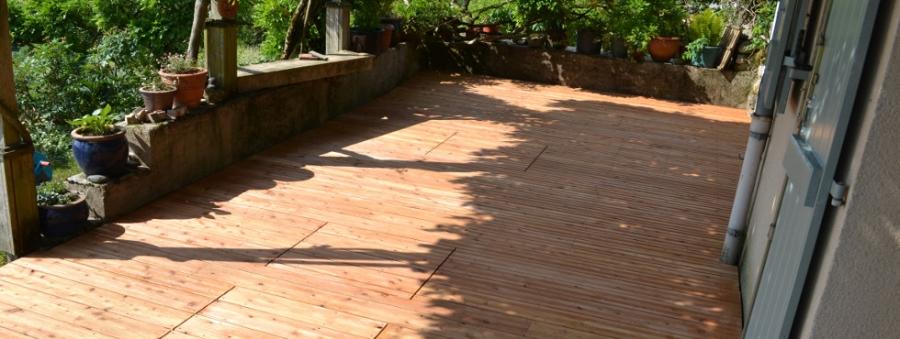lames de terrasses en Mélèze 2