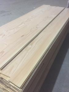 plancher en douglas de 2,4m de long